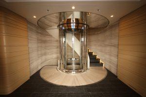 Dự án thang máy tại gia đình anh Nam Getis đã triển khai