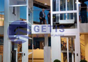 Sản phẩm thang máy gia đình Getis nhập khẩu từ Italy