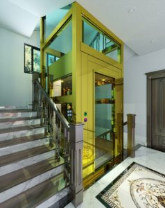 Dự án thang máy getis đã triển khai