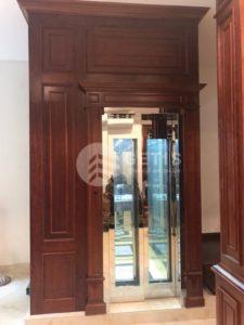 Getis đã triển khai dự án thang máy gia đình tại gia đình anh Thạch