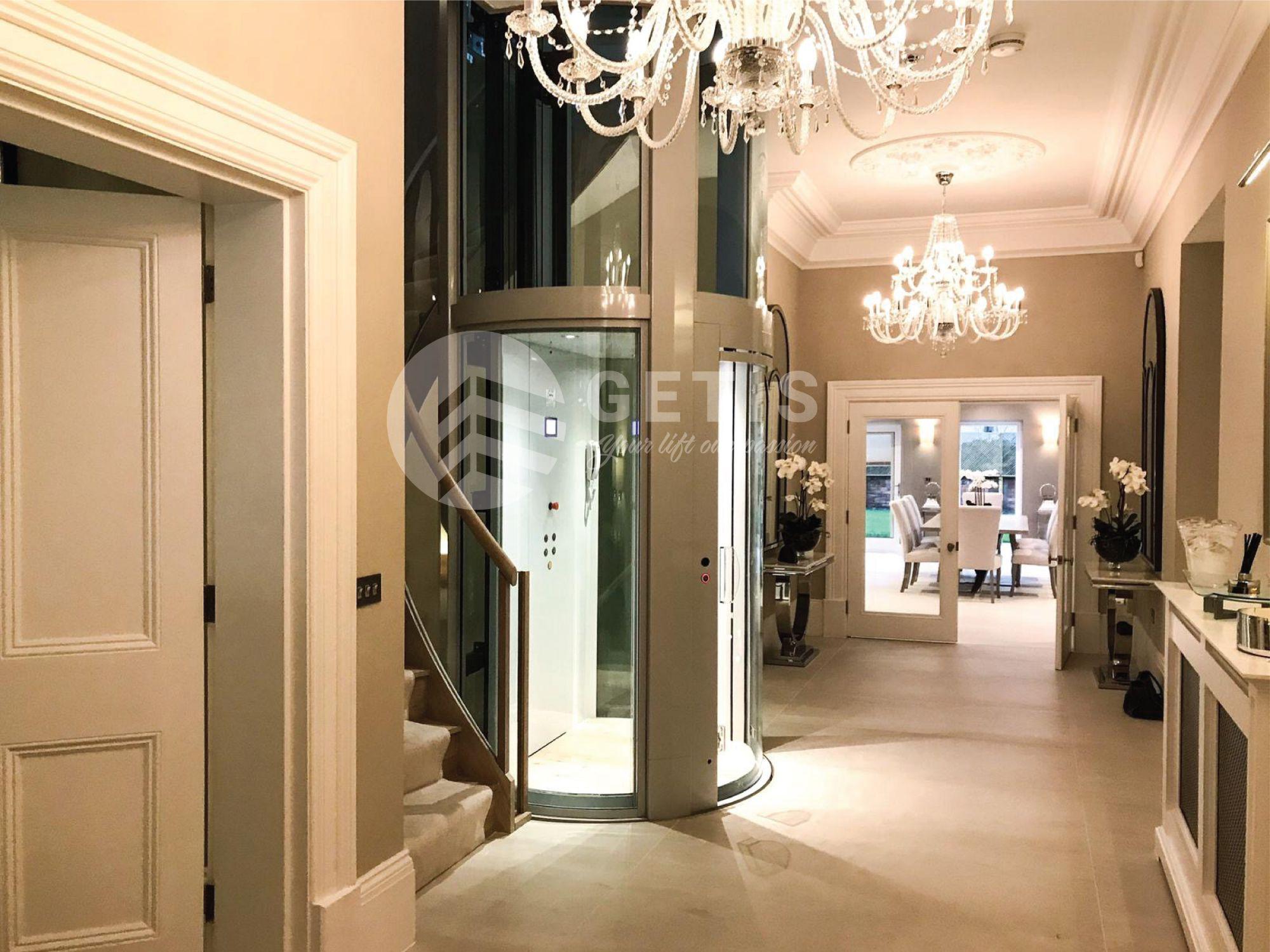 thang máy gia đình tiết kiệm diện tích