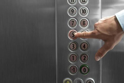 Ký hiệu nút bấm thang máy
