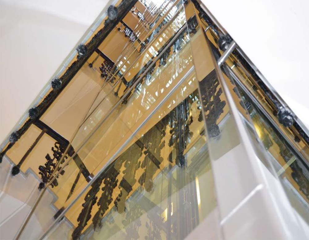 Mẫu khung giếng thang máy getis