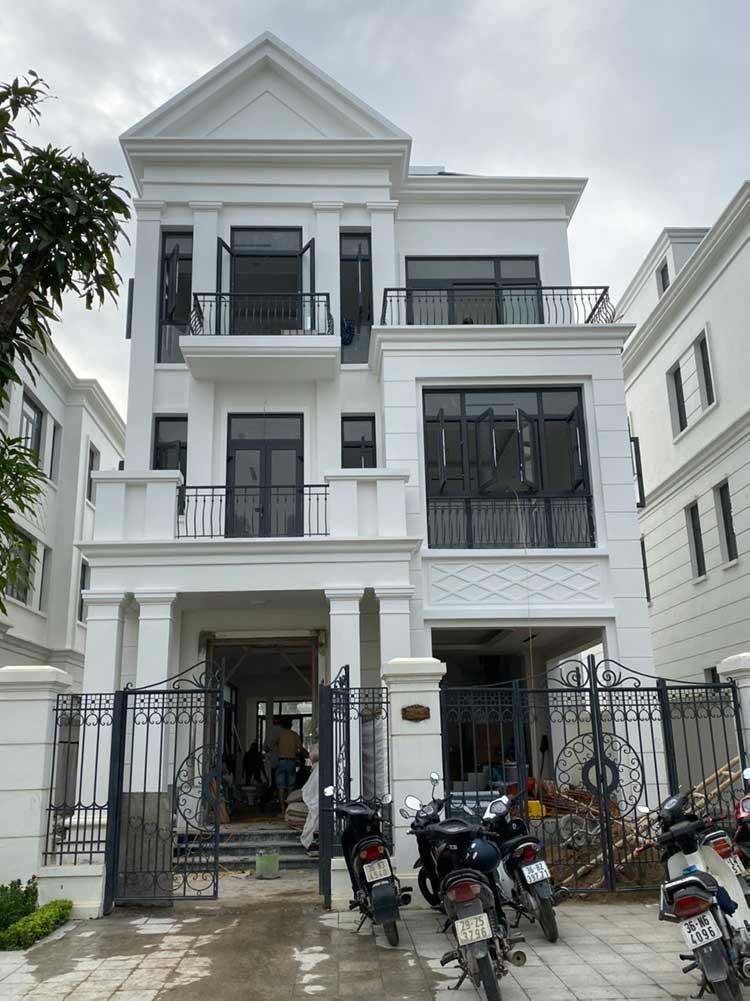 Dự án thang máy getis tại Vinhomes Thanh Hóa