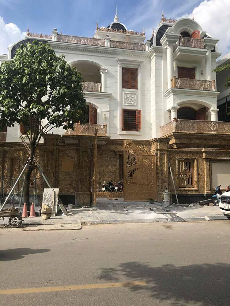 Dự án thang máy gia đình getis tại Biệt thự Linh Đàm
