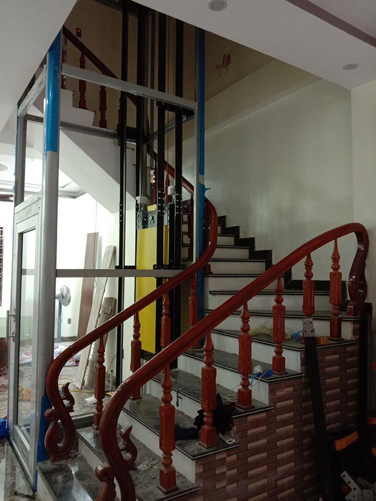 Dự án thang máy gia đình Getis tại Cát Bà
