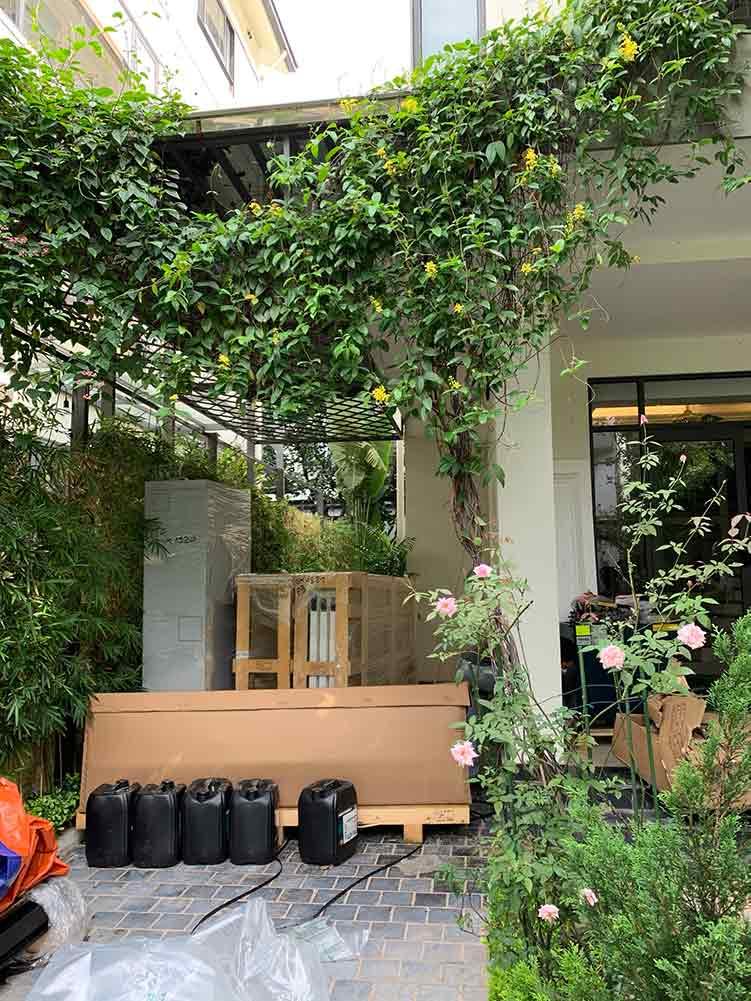 Dự án thang máy gia đình getis tại Vinhomes