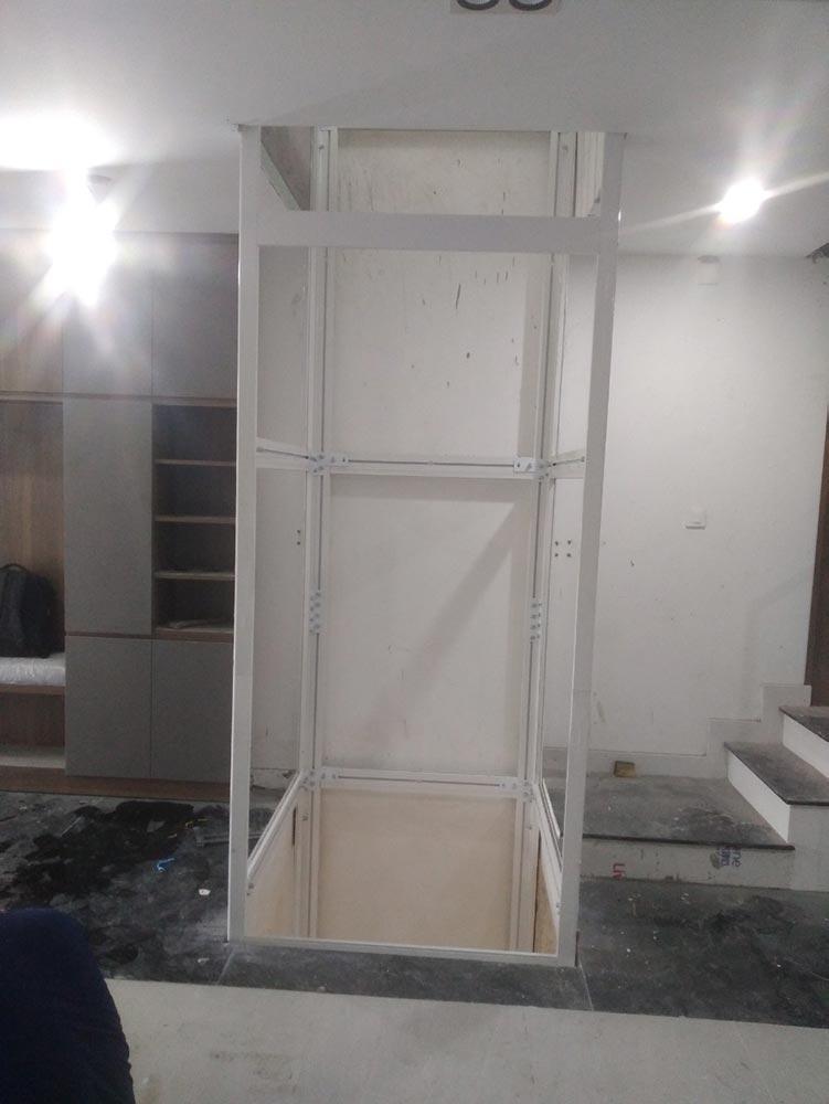 Dự án thang máy gia đình tại Hồ Chí Minh