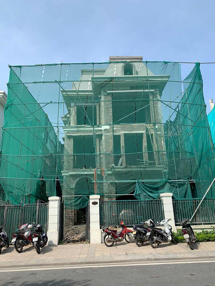 Dự án thang máy tại vinhomes green bay