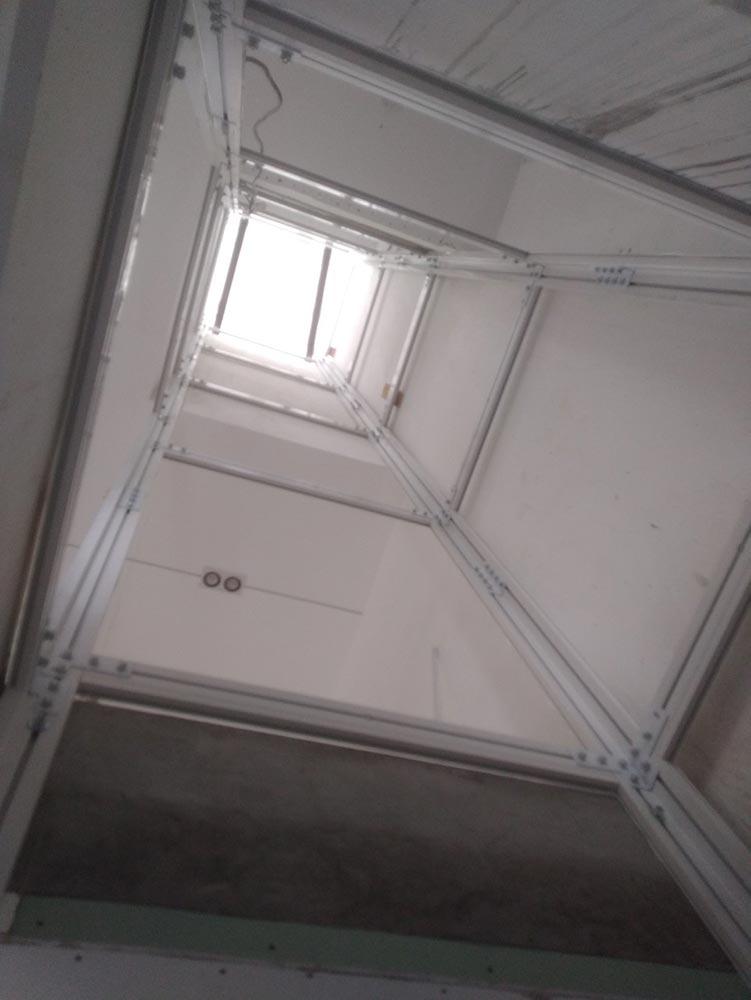 Khung thang máy gia đình getis