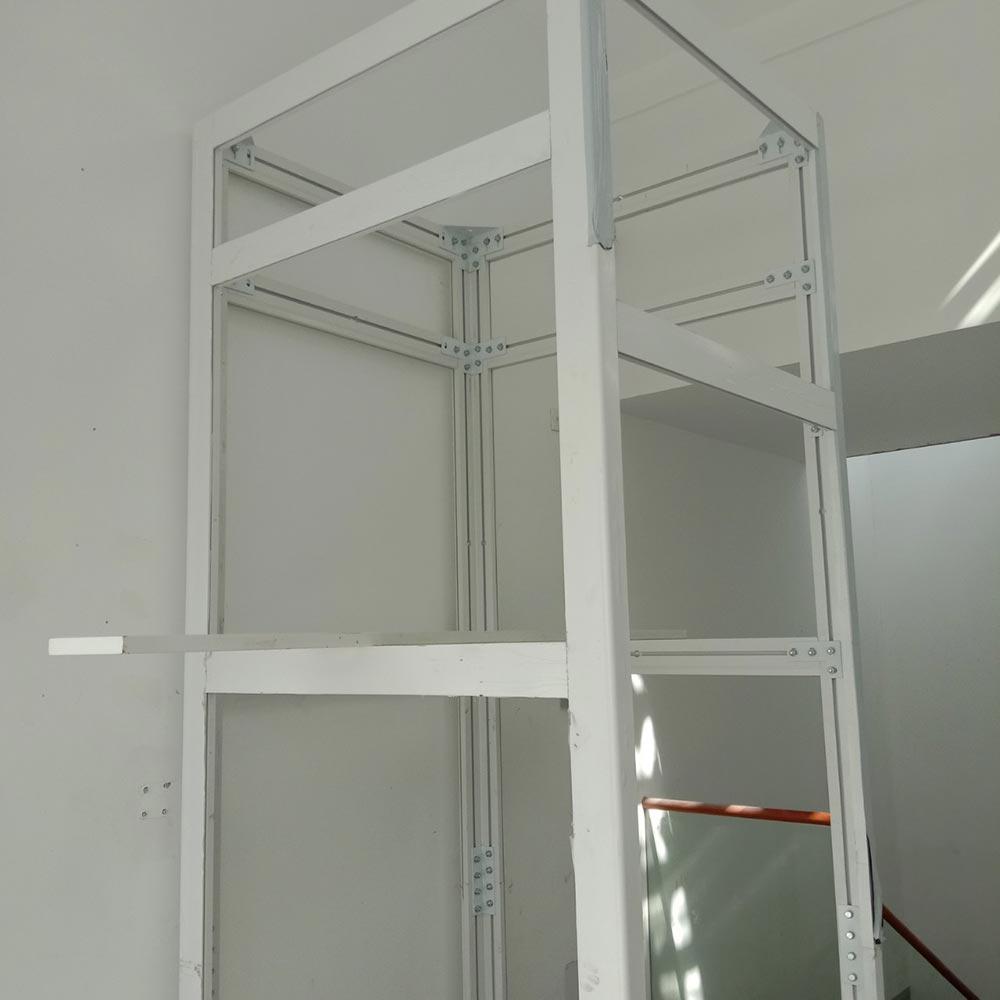 Lắp đặt thang máy gia đình getis tại phú mỹ hưng