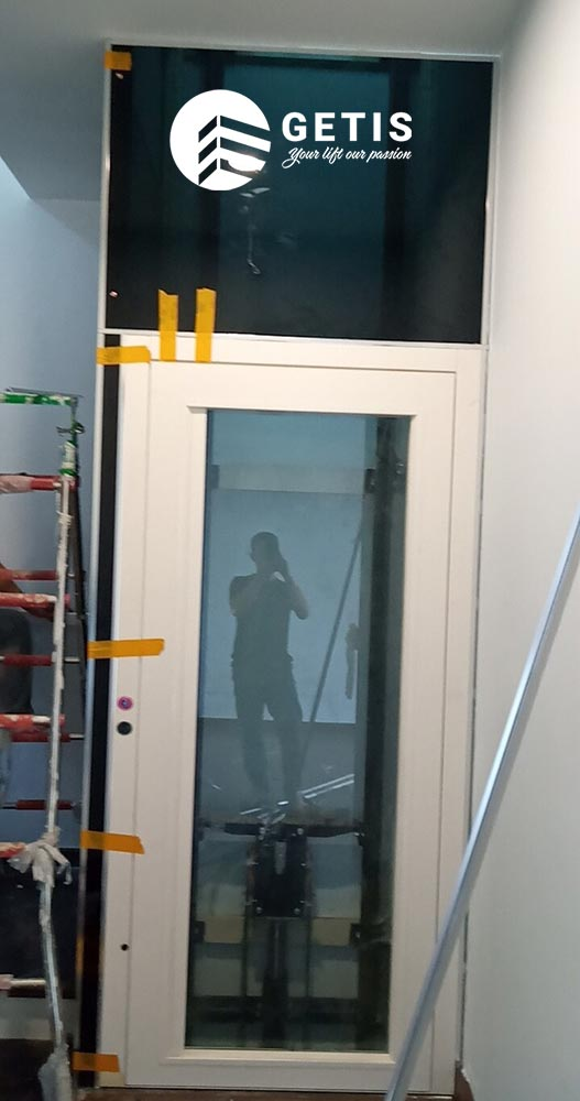 Thực tế dự án thang máy getis tại Vinhomes