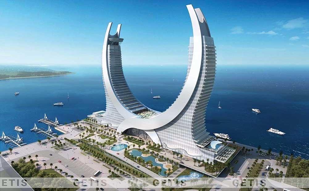 Hoàn thiện khách sạn ven biển