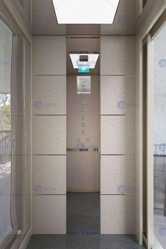 Mẫu cửa cabin thang máy