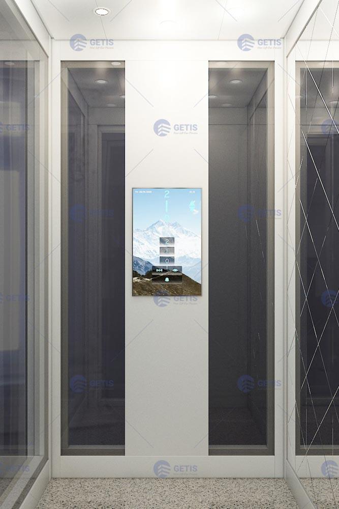 Thiết kê cabin thang máy có bảng điều khiển điện tử