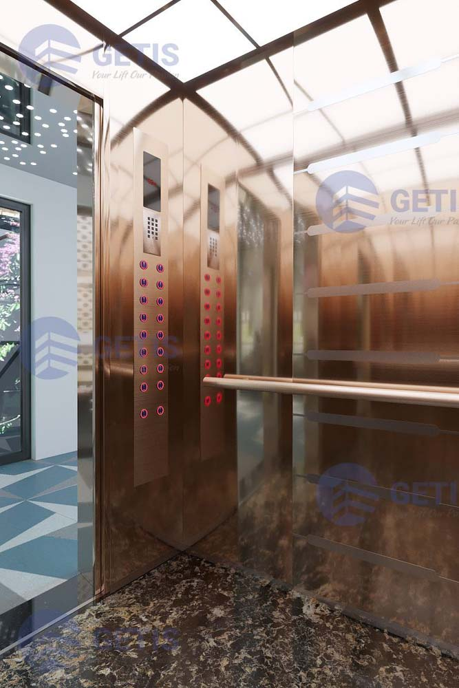 Thiết kế cabin thang máy mới (1)