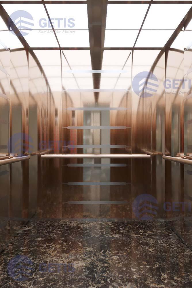 Thiết kế cabin thang máy mới (2)